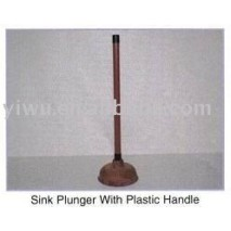 Yiwu Dollar Store Item Agent of Sink Plunger with Plastic Handle
