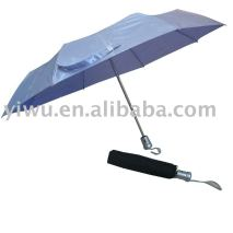 Gray Three Fold Umbrella