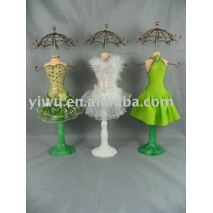 Necklace doll holder