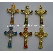 Small Metal Jesus Cross