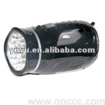 Black High-power LED Flashlight