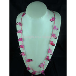 new!neon necklaces