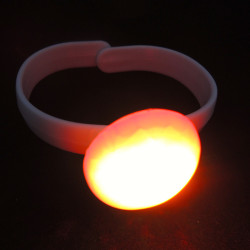 led flashing silicone rubber bracelet,party decorations,wholesale birthday party supply
