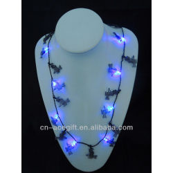mardi gras flash,holiday flashing necklace,Party decorations,party favor,glow lights necklace