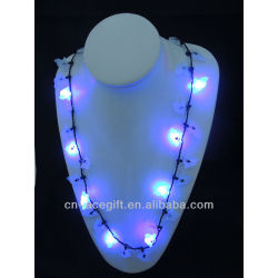 mardi gras 2013 flash,holiday flashing necklace,Party decorations,party favor,glow lights necklace