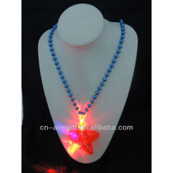 mardi gras new orleans flashing,holiday flashing necklace,Party decorations,party favor,glow lights necklace