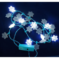 christmas led flashing necklace