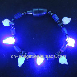 lighted halloween decorations,flashing bracelet