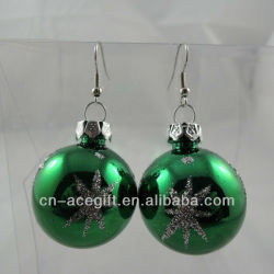 novelty christmas lights earrings,glow earrings