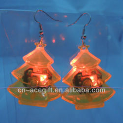 led flashing earrings,glow earrings
