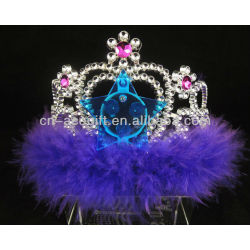 happy brithday flashing led crown