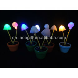 mushroom solar night lights