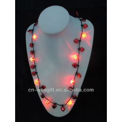 light up christmas jewelry,holiday flashing necklace,Party decorations,party favor,glow lights necklace