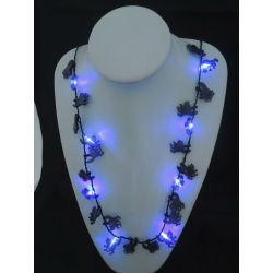 glow party supplies,holiday flashing necklace,Party decorations,party favor,glow lights necklace