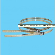 Quick Release Stainless Steel Straps