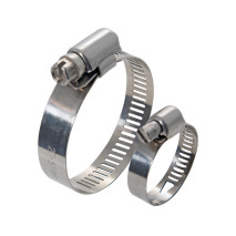 American Type Stainless Steel Worm Drive Hose Clamps
