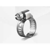 Miniature Stainless Worm Gear Hose Clamp
