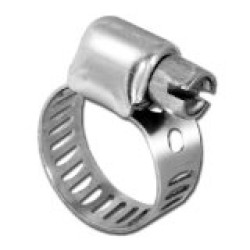 Stainless Steel Small Worm Gear Hose Clamps