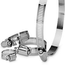All Stainless Hose Clamps,1/2