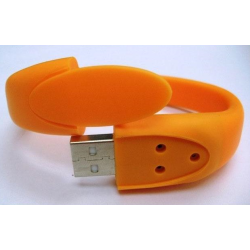 Free Sample, accept Paypal Bracelet USB Flash Memory