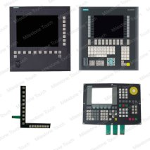 Membrane switch 6FC5610-0BB10-0AA1 / 6FC5610-0BB10-0AA1 Membrane switch 802D ALL CNC KEYBOARD