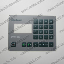 Membrane keypad for Delem DAC 310,Membrane switch for Delem DAC 310