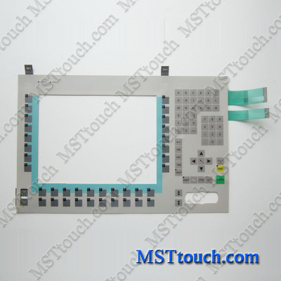 6AV7613-0AA12-0CE0 Membrane keypad switch for 6AV7613-0AA12-0CE0 Panel PC 670 12