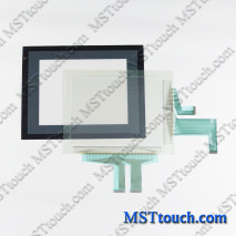 NS10-TV01B-V2 touch panel touch screen for OMRON NS10-TV01B-V2
