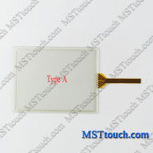 Touch Screen Digitizer Panel Glass for Fanuc TEACH PENDANT A05B-2412-C302 with Overlay Film Membrane