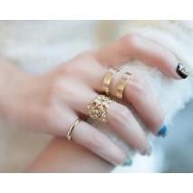 Fashion  Ring  Wholesale Yiwu Small Commodities Market Agent