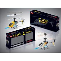 F106 Popular Three Color Remote Control Electric Toy Helicopter
