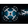 Top Sale Hight Quality Remote Control Electric UFO Toy Plane With HD 0.3 Meg apixel camera