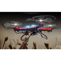 F181 Popular Three Color 2.4G 6 channel Remote Control Electric Toy UFO Helicopter With 2.0 mega pixel HD camera