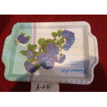 A-261 Top Sale Hight Quality Plastic Plate Wholesale In Yiwu Market