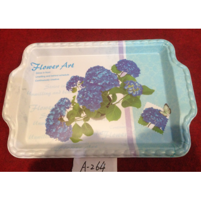 A-264  Top Sale Hight Quality Plastic Plate Wholesale In Yiwu Market