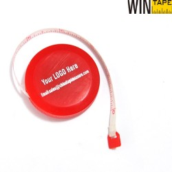 2m/79inch color promotional keychains measuring tape