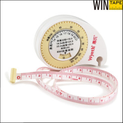 60inch/150cm printable bmi tape measure with your logo