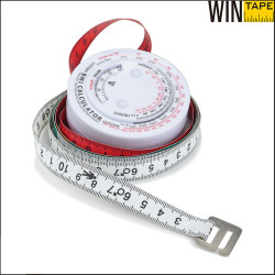 60inch/150cm printable round bmi calculator with your logo