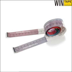 Water Proof Custom Design CMYK Printing Synthetic Paper Bra Measuring Ruler