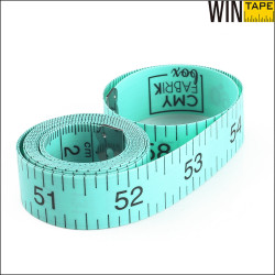 Green Customized Printable 1.5 Meter Funny Tape Measure