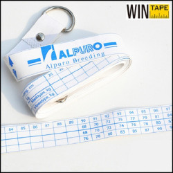 2.5m Customized Cow Cattle Animal Weight Tape Measure