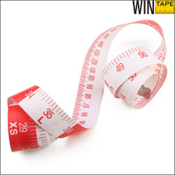 25mm Width Measuring Collar Shirt Cloth Tailor Tape Measure Soft