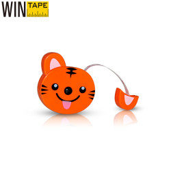 Novelty Cute Cartoon Shape Kid Mini Tape Promotional Gift Animal Design Measuring Tape