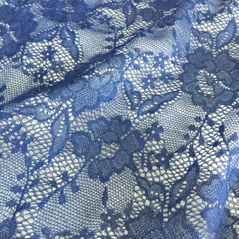 nylon knitting lace fabric