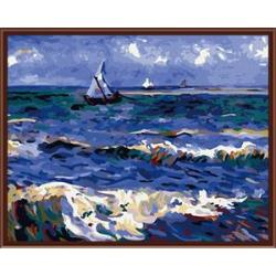CE wholesale canvas reproduction oil painting by number