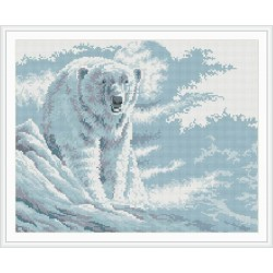 Polar Bear mosaic diamond painting home decor GZ076