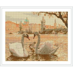 diy diamond painting animal swan picture art suppliers GZ083
