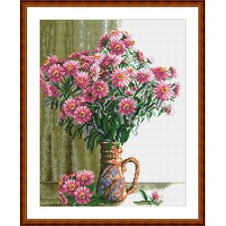 diamond mosaic painting factory hot still life flower photo GZ098