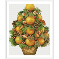 Diy diamond painting hot photo still life fruit for living room decor GZ119