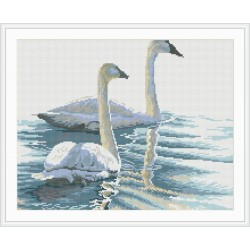 diamond painting animal swan photo yiwu factory GZ070